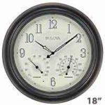 weathermaster outdoor clock