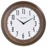 bulova C4863 Beacon Wall Clock