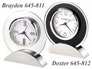 New Howard Miller HM Desk Clocks for 2019