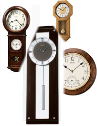 Find information on operations and care of clocks.
